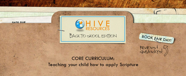 Books to teach your child how to apply Scripture {Hive Resources}