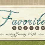 Favorite Things for 2012