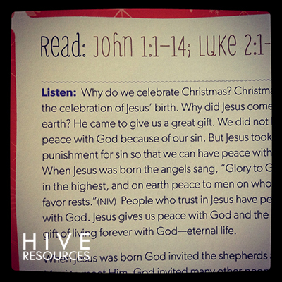 Why Christmas A Christ Centered Devotional For Kids Hive Resources