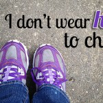 Why I don't wear heels to church {Hive Resources}