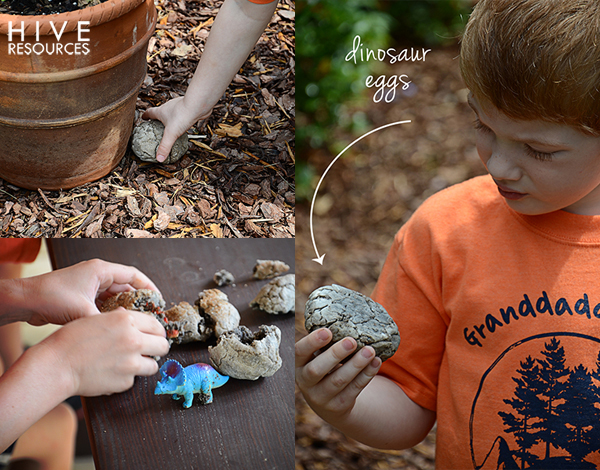 Dinosaur Eggs {Hive Resources}