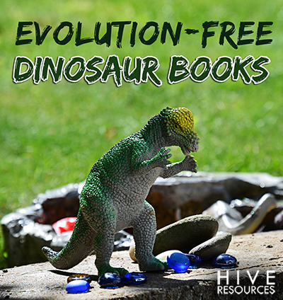 Evolution Free Dino Books for Boys {Hive Resources)