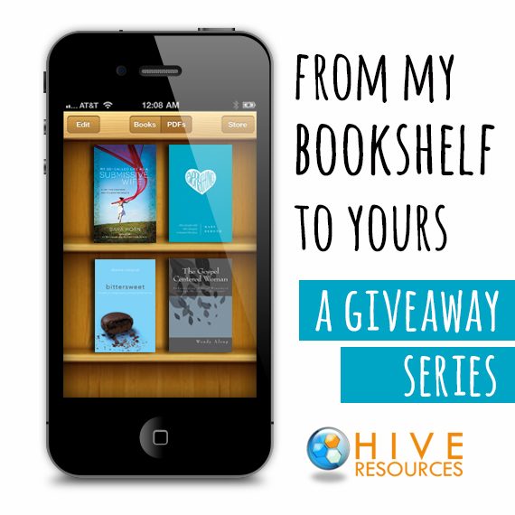 From my bookshelf to yours {Book Giveaways at Hive Resources}