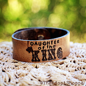 One member of the eBook launch team for Daughters of the King will win this bracelet {Hive Resources}