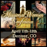 I'm speaking at the Missional Women conference - come join me!
