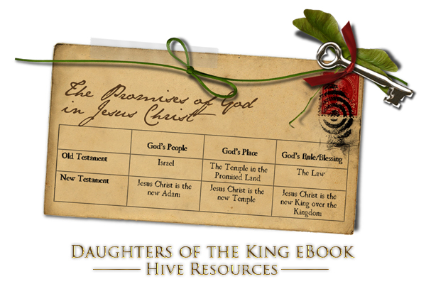 Promises of God Chart {Daughters of the King ebook by Hive Resources}