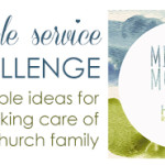 Simple service: A missional meal for new moms or new move-ins