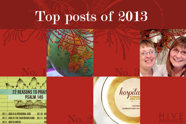 Most read posts of 2013 {Hive Resources}