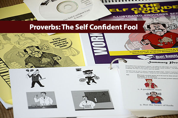 The Proverbs illustrated Series the Self Confident Fool {Hive Resources}