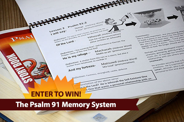 The Psalm 91 Memory System for ages four and up {Hive Resources}