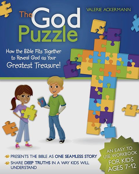 The God Puzzle - a tool to teach children the whole story of Scripture with NO PREP WORK! {Hive Resources}