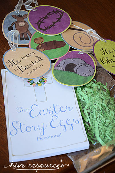 12 Days of Easter with the Easter Story Eggs & Devotional {Hive Resources}