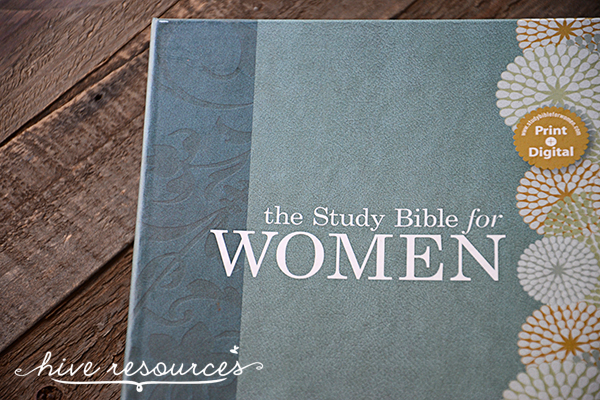 A review of the Study Bible for Women {Hive Resources}