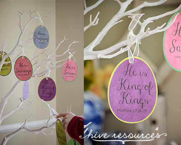 Hurry over to enter to win a set of Easter Story Eggs & Devotional at Hive Resources