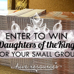 Daughters of the King paperback launch & giveaway