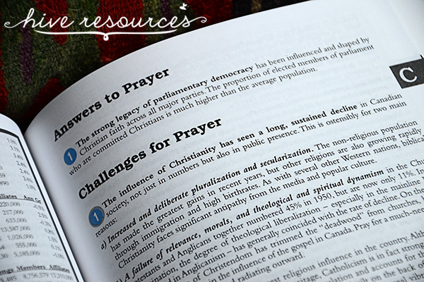 Teaching your kids to pray for world missions {Hive Resources}