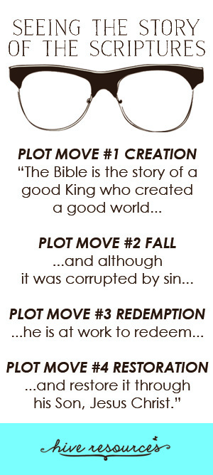 What are the four plot moves of the Bible? {Hive Resources}