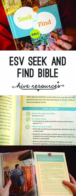 ESV Seek and Find Bible {Hive Resources}