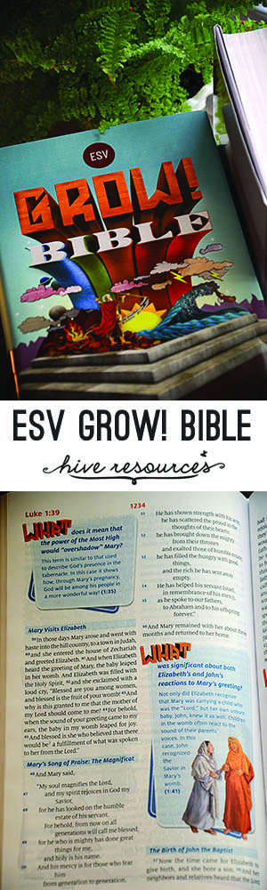 Grow ESV Bible {Hive Resources}