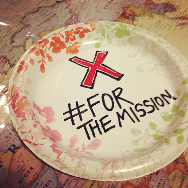 Miss a meal for global missions {Hive Resources}