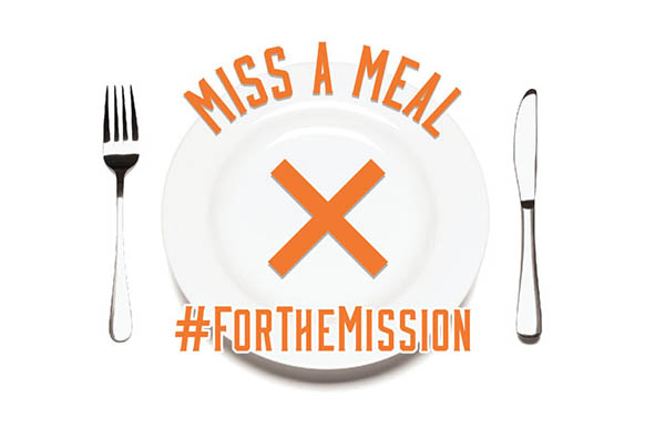 Miss A Meal #forthemission - donate to global missions {Hive Resources}