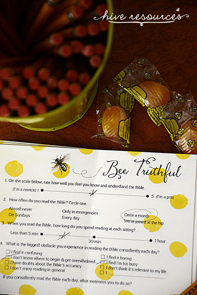 Bee-ing Honest about Biblical Literacy in Womens Ministries {Hive Resources}