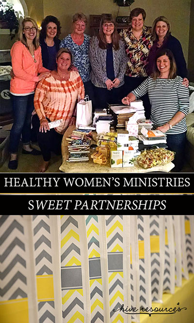 Cultivating partnerships with other churches {Hive Resources}