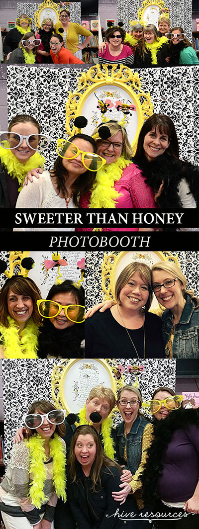 Sweeter Than Honey Photobooth Ideas {Hive Resources}