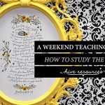 A teaching event on how to study God's Word