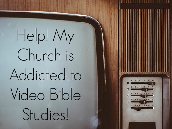 What to do when your church is addicted to video Bible studies {Hive Resources}