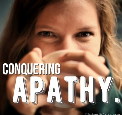 Conquering Apathy in Women's Ministry