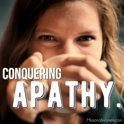 How to conquer apathy in womens ministry and how to make womens ministry missional {Hive Resources}