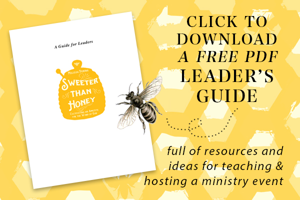 Download a free PDF Leaders Guide for the book Sweeter than Honey {Hive Resources}