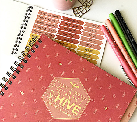 Heart & Hive Bible Study Journals & Stickers