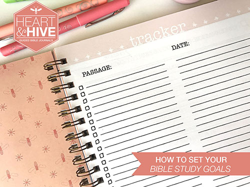 How to set your Bible study goals